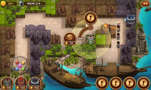 Screenshots von Treasure defense für Android-Tablet, Smartphone.
