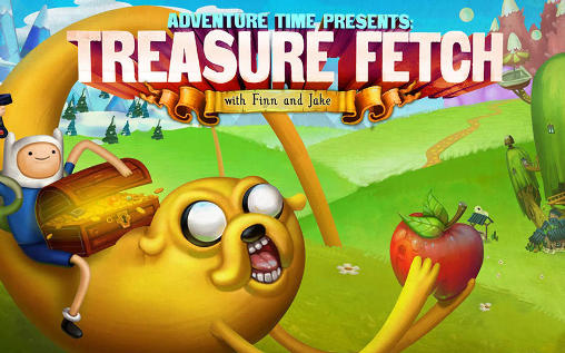 Treasure fetch: Adventure time poster
