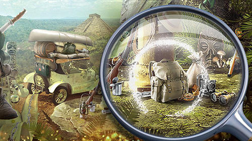 Écrans de Treasure hunt hidden objects adventure game pour tablette et téléphone Android.