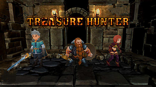 Treasure hunter. Dungeon fight: Monster slasher