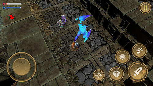 Get full version of Android apk app Treasure hunter. Dungeon fight: Monster slasher for tablet and phone.