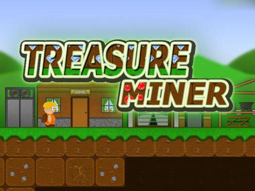 Treasure miner: A mining game обложка