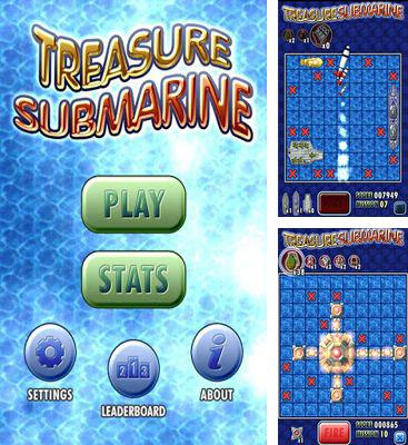 In addition to the game Battleships for Android phones and tablets, you can also download Treasure Submarine for free.