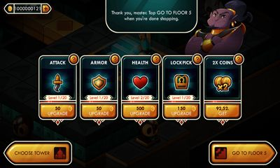 Treasure Tower Sprint screenshot 2