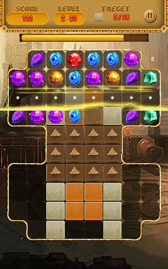 Screenshots von Treasures of Cleopatra für Android-Tablet, Smartphone.