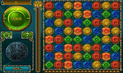 Screenshots do Treasures of Montezuma 2 - Perigoso para tablet e celular Android.