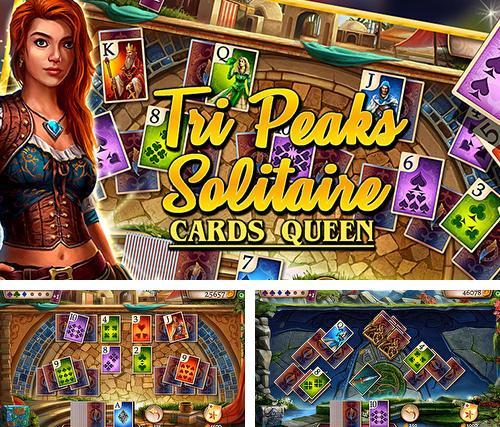 Tri peaks solitaire: Cards queen
