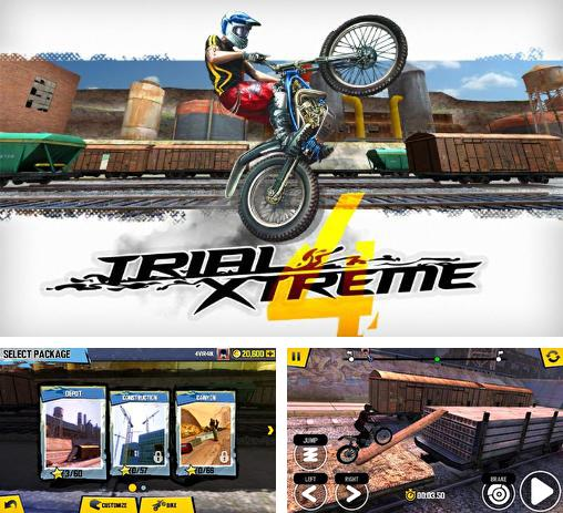 In addition to the game Trial Xtreme 2 for Android phones and tablets, you can also download Trial xtreme 4 for free.