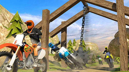 Trial xtreme dirt bike racing: Motocross madness скриншот 2