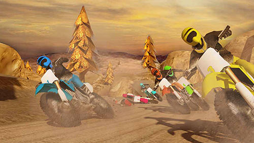Screenshots von Trial xtreme dirt bike racing: Motocross madness für Android-Tablet, Smartphone.