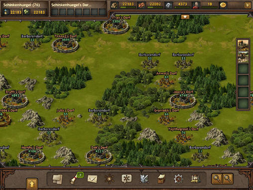 Screenshots von Tribal wars 2 für Android-Tablet, Smartphone.