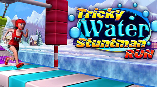 Tricky water stuntman run