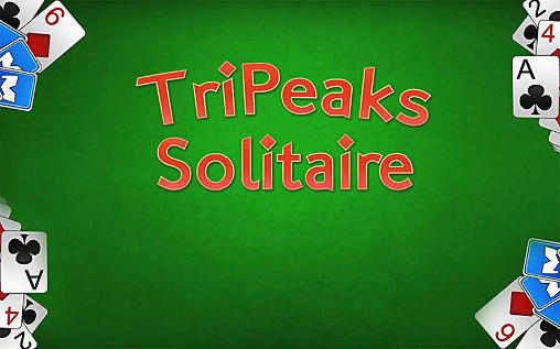 Tripeaks solitaire poster