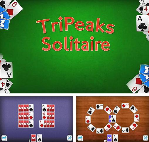 In addition to the game Brick Spider Solitaire for Android phones and tablets, you can also download Tripeaks solitaire for free.