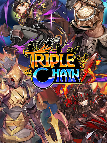 Triple chain: Strategy and puzzle RPG poster