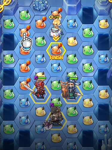 Triple chain: Strategy and puzzle RPG screenshot 2