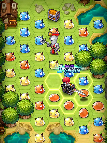 Triple chain: Strategy and puzzle RPG screenshot 3