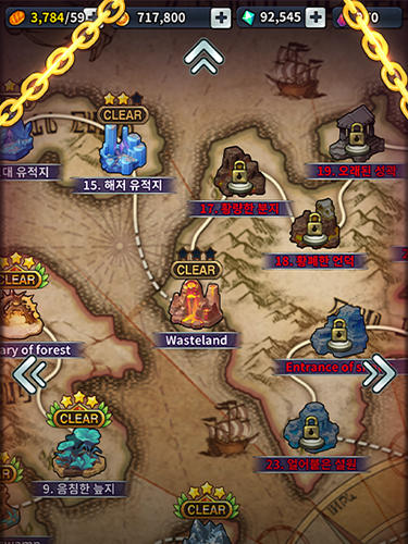 Triple chain: Strategy and puzzle RPG screenshot 4