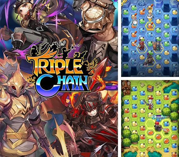 Triple chain: Strategy and puzzle RPG