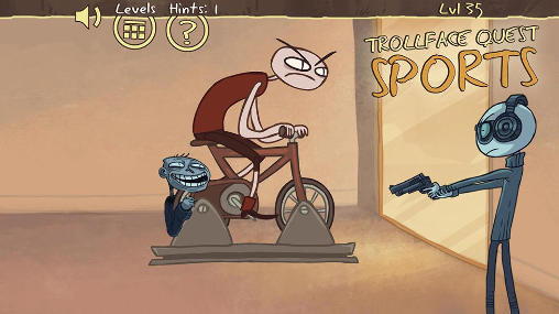 Trollface quest: Sports puzzle screenshot 1