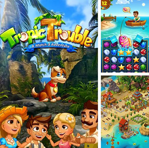 Tropic trouble: A match 3 adventure builder