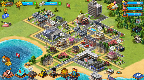 Tropical Paradise: Town Island. City Building Sim For