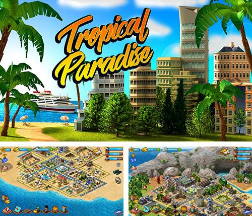 Tropical paradise: Town island. City building sim