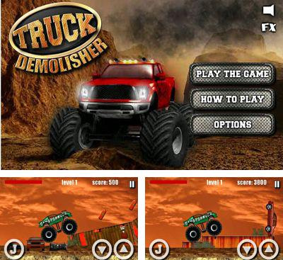 In addition to the game Penalty for Android phones and tablets, you can also download Truck Demolisher for free.