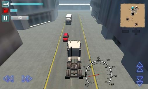 Truck driver 3D: Extreme roads screenshot 4