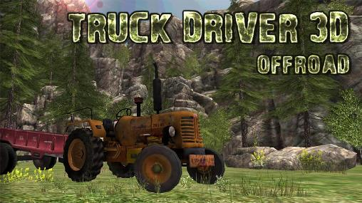 Truck driver 3D: Offroad poster