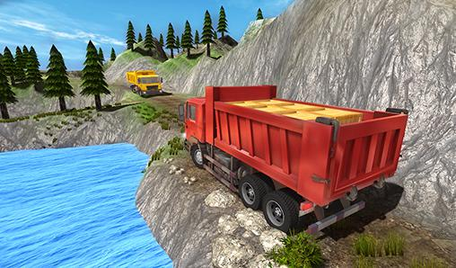 Screenshots do Truck driver extreme 3D - Perigoso para tablet e celular Android.