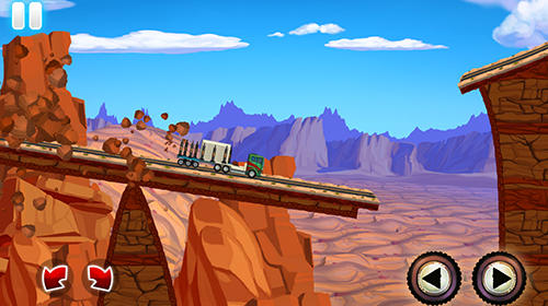 Truck driving race US route 66 für Android spielen. Spiel Truck Driving: Race. US Route 66 kostenloser Download.