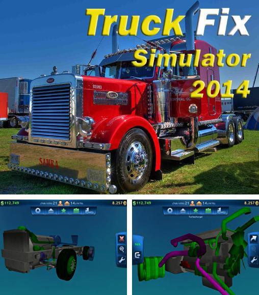 In addition to the game Car Disassembly 3D for Android phones and tablets, you can also download Truck fix simulator 2014 for free.