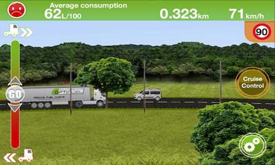 Truck Fuel Eco Driving screenshot 2
