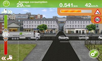Truck Fuel Eco Driving screenshot 3