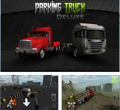 In addition to the game Real Parking 3D for Android phones and tablets, you can also download Truck Parking 3D Pro Deluxe for free.