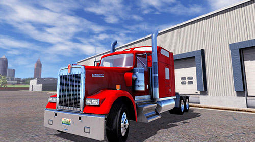 Screenshots do Truck simulation 19 - Perigoso para tablet e celular Android.
