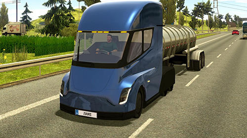 Screenshots von Truck simulator 2018: Europe für Android-Tablet, Smartphone.