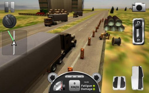 Truck simulator 3D screenshot 2