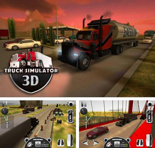 In addition to the game Ice Road Truckers for Android phones and tablets, you can also download Truck simulator 3D for free.