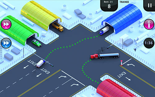 Truck traffic control screenshot 2