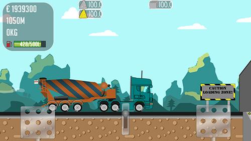 скачать игру trucker joe с модом много денег на андроид