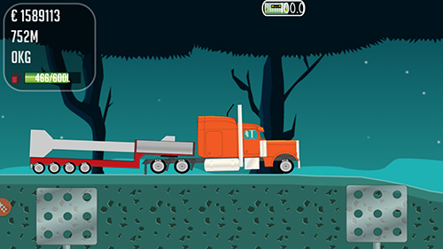 Screenshots von Trucker Joe für Android-Tablet, Smartphone.