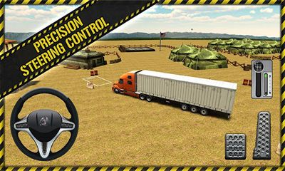 Trucker Parking 3D screenshot 2