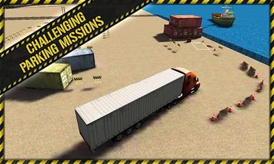 Trucker Parking 3D screenshot 4