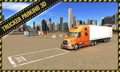 Trucker Parking 3D screenshot 5