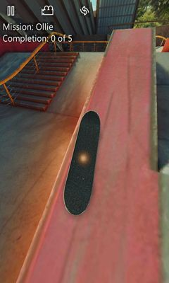 Screenshots of the True Skate for Android tablet, phone.
