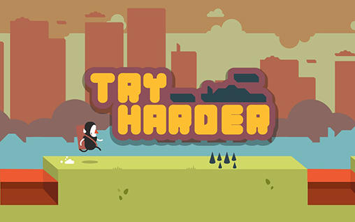 Try harder poster