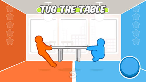 Capturas de pantalla de Tug the table para tabletas y teléfonos Android.
