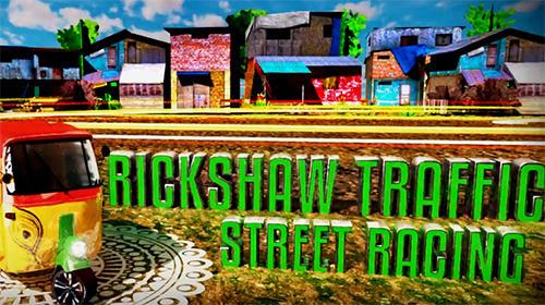 Tuk tuk drive traffic simulator 3D. Rickshaw traffic street racing